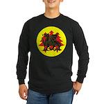 Drachenwald Populace Long Sleeve Dark T-Shirt
