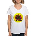 Drachenwald Populace Women's V-Neck T-Shirt