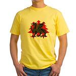 Drachenwald Populace Yellow T-Shirt