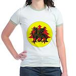 Drachenwald Populace Jr. Ringer T-Shirt