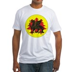 Drachenwald Populace Fitted T-Shirt
