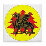 Drachenwald Populace Tile Coaster