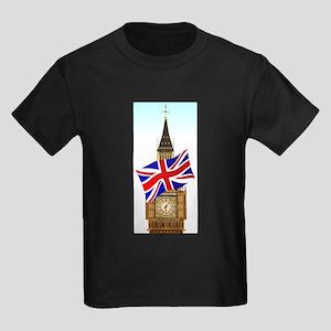 Big Ben With Union Flag T-Shirt