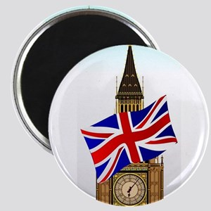 Big Ben With Union Flag Magnets