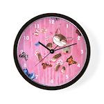 Drunk.Punch.Love Wall Clock