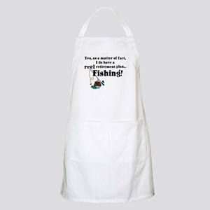 Reel Retirement Plan BBQ Apron