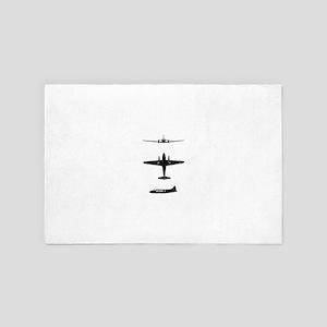 aircraft 4' x 6' Rug