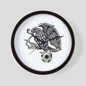Mexican Football Eagle Wall Clock