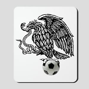 Mexican Football Eagle Mousepad