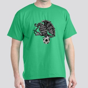 Mexican Football Eagle Dark T-Shirt