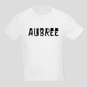 Aubree Faded (Black) Kids Light T-Shirt
