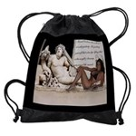 Rome Italy Bodybuilding Motivation Drawstring Bag