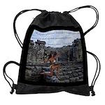Mayan Ruins Bodybuilding Motivation Drawstring Bag