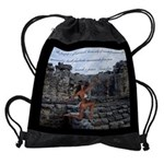 Mayan Ruins Bodybuilding Motivation Drawstring Bag