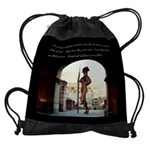 Rome Italy Bodybuilding Drawstring Bag