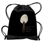 Full Moon Bodybuilding Drawstring Bag