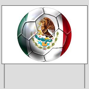 Futbol Mexicano Yard Sign