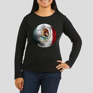 Futbol Mexicano Women's Long Sleeve Dark T-Shirt