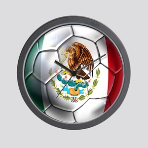 Futbol Mexicano Wall Clock