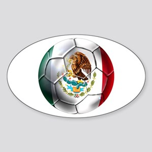 Futbol Mexicano Sticker (Oval)