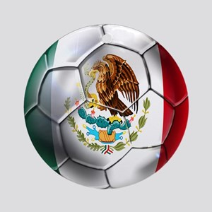 Futbol Mexicano Ornament (Round)