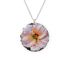White Hibiscus Necklace
