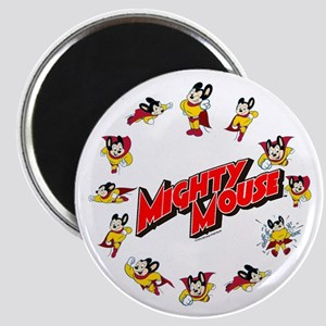 Mighty Mouse Collage Rc Magnets