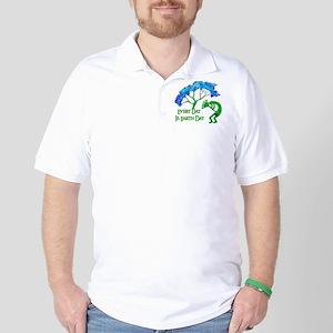 Earth Day Kokopelli Polo Shirt