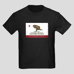 California Skateboarding Bear Flag T-Shirt
