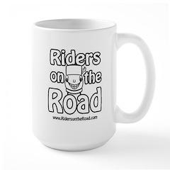 Drivers Need Coffee Large Mug