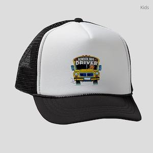 school bus driver Kids Trucker hat