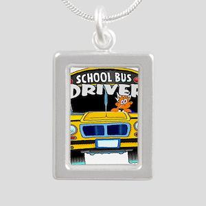 school bus driver Necklaces