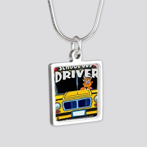 school bus driver Necklaces
