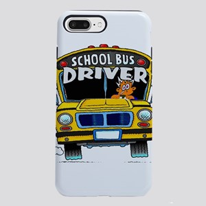 school bus driver iPhone 8/7 Plus Tough Case