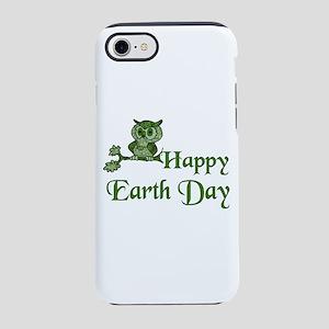Earth Day Owl iPhone 8/7 Tough Case