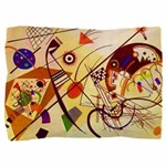 Kandinsky Red Blue Yellow Abstract Pillow Sham
