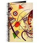 Kandinsky Red Blue Yellow Abstract Journal