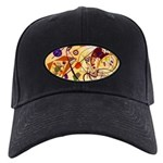 Kandinsky Red Blue Yellow Abstract Baseball Hat