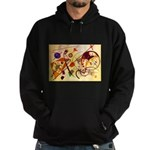 Kandinsky Red Blue Yellow Abstract Sweatshirt