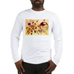 Kandinsky Red Blue Yellow Abstract Long Sleeve T-S