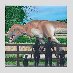 Dinosaur Country Tile Coaster