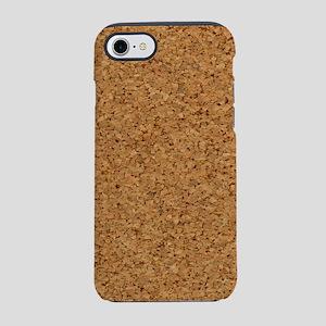 Cool Chic Faux Cork 4Stanley iPhone 8/7 Tough Case