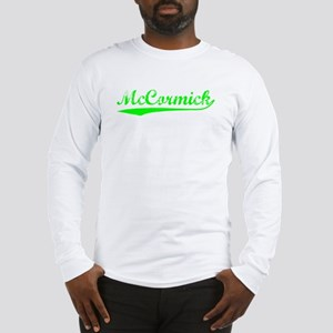 Vintage McCormick (Green) Long Sleeve T-Shirt