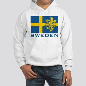 Sweden Flag Hooded Sweatshirt
