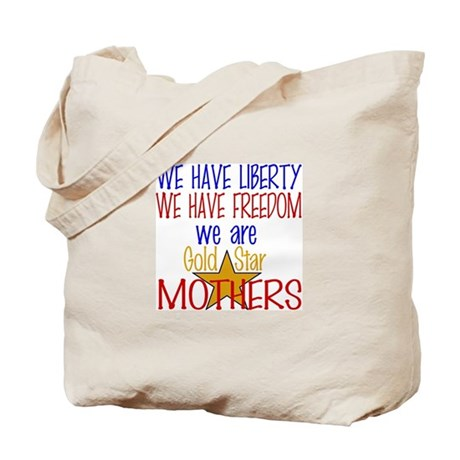 GOLD STAR MOTHERS Tote Bag