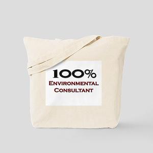100 Percent Environmental Consultant Tote Bag