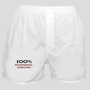 100 Percent Environmental Consultant Boxer Shorts