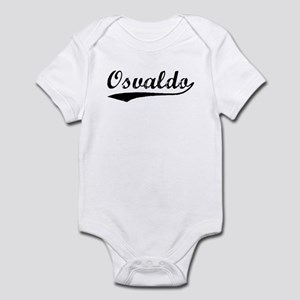 Vintage Osvaldo (Black) Infant Bodysuit