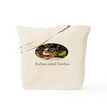 Rufous-sided Towhee Tote Bag
