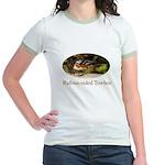 Rufous-sided Towhee Jr. Ringer T-Shirt